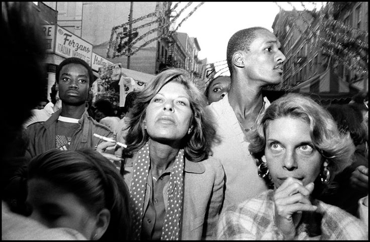 1984. Feast of San Gennero, Little Italy. Contact email: New York : photography@magnumphotos.com Paris : magnum@magnumphotos.fr London : magnum@magnumphotos.co.uk Tokyo : tokyo@magnumphotos.co.jp Contact phones: New York : +1 212 929 6000 Paris: + 33 1 53 42 50 00 London: + 44 20 7490 1771 Tokyo: + 81 3 3219 0771 Image URL: http://www.magnumphotos.com/Archive/C.aspx?VP3=ViewBox_VPage&IID=2K7O3R20H1I&CT=Image&IT=ZoomImage01_VForm