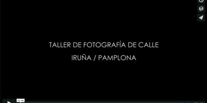 Taller de fotografía documental de calle en Sanfermines 2016