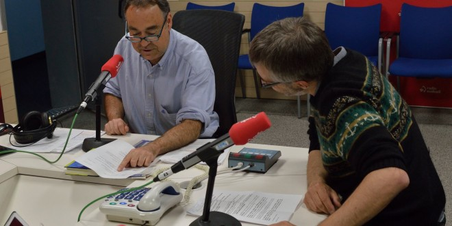 Entrevista en Radio Euskadi con Roge Blasco